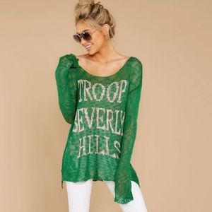 [Judith March] Troop Beverly Hills Knit Sweater